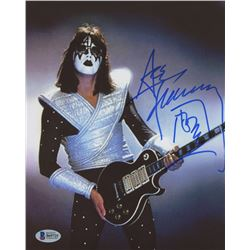 Ace Frehley Signed 8x10 Photo With Inscription (Beckett COA)