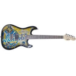Stephen Curry Signed Northender Golden State Warriors Electric Guitar (Steiner Hologram)
