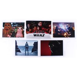Star Wars: The Last Jedi Set of (4) Exclusive Disney Limited Edition 14x10 Lithographs with Original