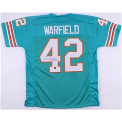 "Paul Warfield Signed Dolphins Football Jersey Inscribed ""HOF '83"" (Warfield Hologram)"