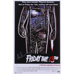 "Ari Lehman Signed ""Friday the 13th"" 11x17 Movie Poster Photo (JSA COA)"