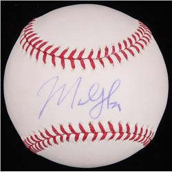 Marlon Byrd Signed OML Baseball (MLB  Fanatics Hologram)