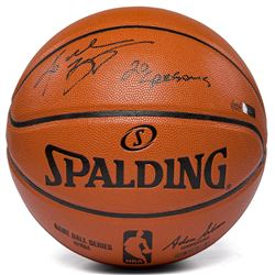 "Kobe Bryant Signed NBA Spalding LE Basketball Inscribed ""20 Seasons"" (Panini COA)"