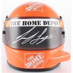 Joey Logano Signed NASCAR The Home Depot Rookie Year 1:3 Scale Helmet (PA COA)