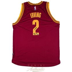 Kyrie Irving Signed Cavaliers Jersey Inscribed  15-16 NBA Champ  (Panini COA)