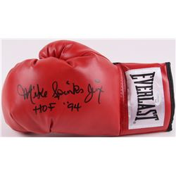 Mike  Jinx  Spinks Signed Everlast Boxing Glove Inscribed  HOF 94  (JSA COA)