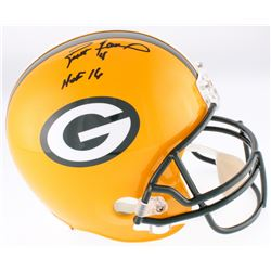 "Brett Favre Signed Packers Full-Size Helmet Inscribed ""HOF 16"" (Favre COA)"