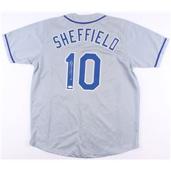Gary Sheffield Signed Dodgers Jersey (JSA COA)