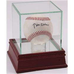 Bill Clinton Signed Baseball with High Quality Display Case (JSA ALOA)