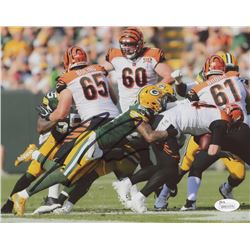 Josh Jones Signed Packers 8x10 Photo (JSA COA)