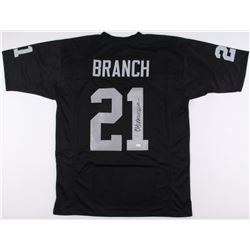 Cliff Branch Signed Raiders Jersey (JSA COA)