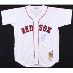 "Wade Boggs Signed Red Sox Jersey Inscribed ""HOF 2005"" (Steiner COA  MLB Hologram)"