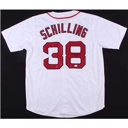 Curt Schilling Signed Red Sox Jersey (JSA COA)