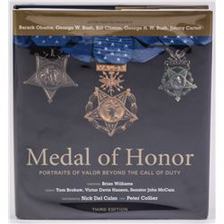 """Medal of Honor: Portraits of Valor Beyond the Call of Duty"" Hardcover Book Signed by (13) With Dona"