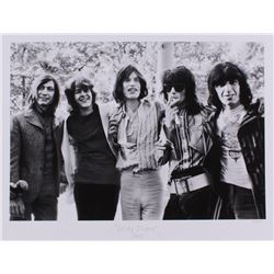 "The Hulton Archive - Rolling Stones ""Sticky Fingers"" Limited Edition 16.88x22 Fine Art Giclee on Pap"
