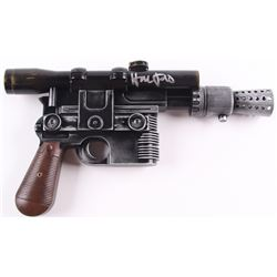 "Harrison Ford Signed ""Star Wars"" High Quality Prop Replica Blaster (Radtke COA)"