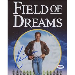 "Kevin Costner Signed ""Field Of Dreams""  8x10 Photo (PSA COA)"