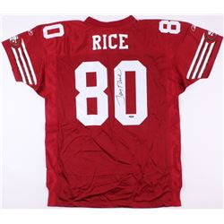 Jerry Rice Signed 49ers Jersey (TriStar Hologram)