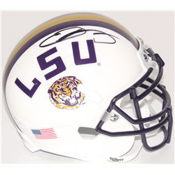 Odell Beckham Jr. Signed LSU Tigers Mini Speed Helmet (JSA COA)