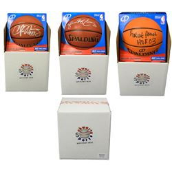 Schwartz Sports Basketball Superstar Signed Mystery Box Basketball - Series 3