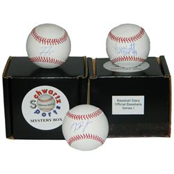 Schwartz Sports MLB Baseball Mystery Box - Series 1 (Limited to 300) - **Baseball Jersey Redemptions