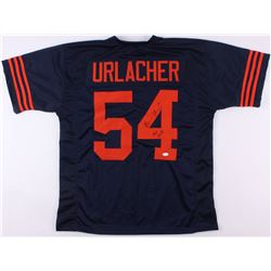 "Brian Urlacher Signed Bears Color Rush Jersey Inscribed ""HOF 2018"" (JSA COA)"