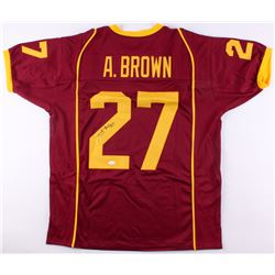 Antonio Brown Signed Central Michigan Chippewas Jersey (JSA COA)