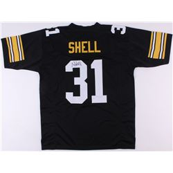 Donnie Shell Signed Steelers Jersey (JSA COA)