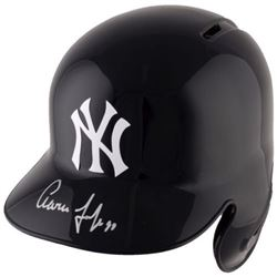 Aaron Judge Signed Yankees Full-Size Batting Helmet (Fanatics Hologram)