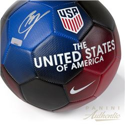Christian Pulisic Signed Nike USA Prestige Soccer Ball (Panini COA)