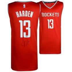 James Harden Signed Rockets Nike Jersey (Fanatics Hologram)