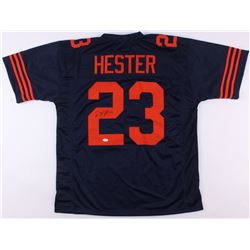 Devin Hester Signed Bears Color Rush Jersey (JSA COA)