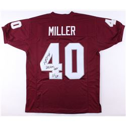 "Von Miller Signed Texas AM Jersey Inscribed ""Wrecking Crew""  ""GIG EM"" (JSA COA)"
