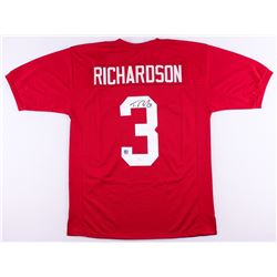 Trent Richardson Signed Alabama Crimson Tide Jersey (JSA COA  Richardson Hologram)