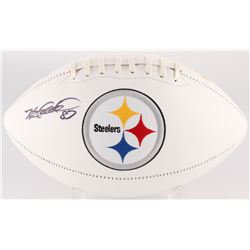Heath Miller Signed Steelers Logo Football (JSA COA)