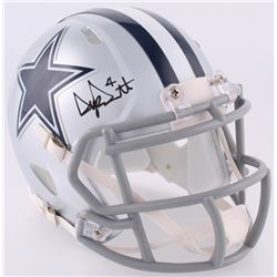 Dak Prescott Signed Cowboys Speed Mini Helmet (JSA COA)