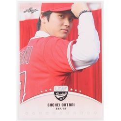 Lot of (25) 2018 Leaf Shohei Ohtani RC Baseball Cards