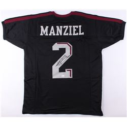 "Johnny Manziel Signed Texas AM Aggies Jersey Inscribed ""'12 Heisman"" (JSA COA)"