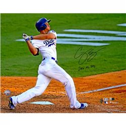 "Corey Seager Signed Dodgers 16x20 Photo Inscribed ""2016 NL ROY"" (Fanatics  MLB Hologram)"