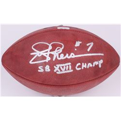 "Joe Theisman Signed Wilson Official Super Bowl XVII NFL Game Ball Inscribed ""SB VXII Champs"" (Radtke"
