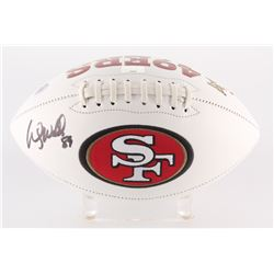 Wesley Walls Signed 49ers Logo Football (Radtke Hologram)