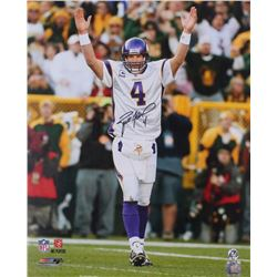 Brett Favre Signed Vikings 16x20 Photo (Favre COA)