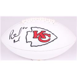 Patrick Mahomes II Signed Chiefs Logo Football (JSA Hologram)