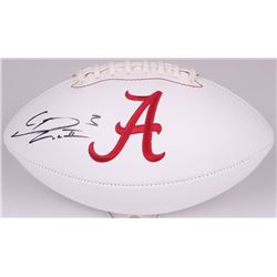 Calvin Ridley Signed Alabama Crimson Tide Logo Football (Radtke COA)