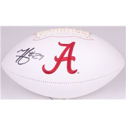 Minkah Fitzpatrick Signed Alabama Crimson Tide Logo Football (Radtke COA)