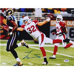 Tyrann Mathieu Signed Cardinals 11x14 Photo (PSA COA)