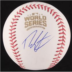 Theo Epstein Signed 2016 World Series Baseball (PSA COA)