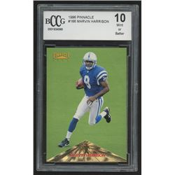 1996 Pinnacle #166 Marvin Harrison RC (BCCG 10)