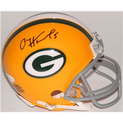 Paul Hornung Signed Packers Mini Helmet (JSA COA)