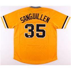 Manny Sanguillen Signed Pirates Jersey (JSA COA)